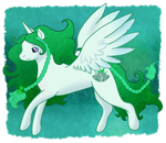 Shimmer Leaf by SeaDrops