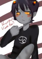 karkat by sora0cacahuate