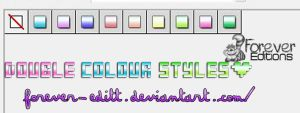 Styles Double colour by Forever-editt