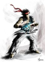 RYU speed-paint by mansarali