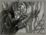 The Wolfman, Lon Chaney Jr. by sarahwilkinson