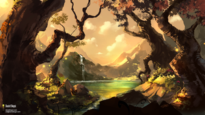 Another Peaceful Place - Commission by danielbogni