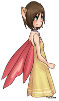 that yellow dress by Nyappy-muffin
