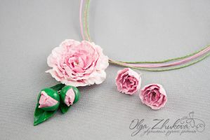 pion of polymer clay by polyflowers