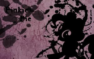 Pinkie Pie Splatter Wallpaper by Glitcher007