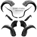 Antlers and horns by Gerene by Gerene33
