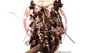 Dissidia Villains. by Manderson169