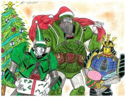 Merry Christmas 2014 Transformers  AOE by ailgara