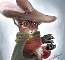 -putty cat in boots- by kiwifluff
