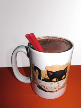 protected cup of cocoa by KoNFo