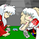 Dogs Playing Poker by Patches365