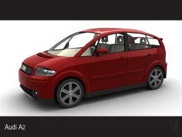 Audi A2 by nalhcal