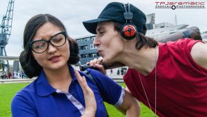24 Oct MCM LON Team Fortress 2 Miss Pauling Scout by TPJerematic