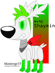 Robot Pokemon Challenge Day 14: Shaymin by Masterge77