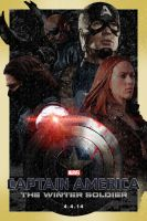 Captain America: The Winter Soldier Poster 1 by jonesyd1129