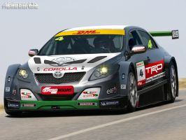 Corolla - Tourism race car by HelissonCG