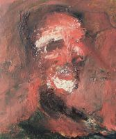 Study for Portrait of Frank Auerbach by RyckRudd