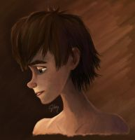 Portrait of Hiccup by inhonoredglory