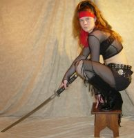 Jodi Pirate Ninja Katana 10 by FantasyStock