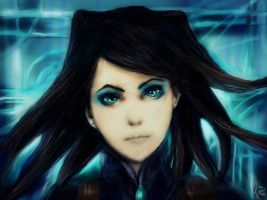 Ergo_Proxy_Re-L Mayer by DZIU09