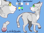 White Shade Reference by Silverfang10001