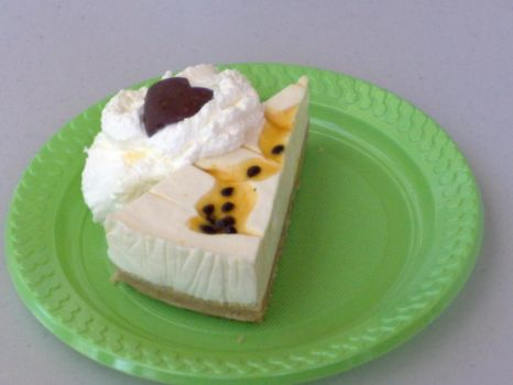 Passionfruit Cheesecake by LionSpider