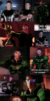 ME2: Duke Collage by TigerBun