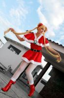 Usagi Tsukino Holiday Sailor Moon Cosplay by SailorMappy