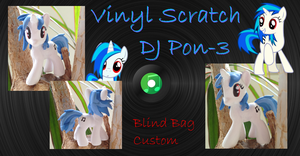 My little Pony FIM Vinyl Scratch DJ Blind Bag 2th by Asukatze