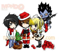 Death Note - XMas by Tanashi