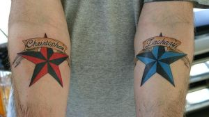 nautical stars tattoo by twyliteskyz