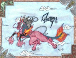 Capricorn::demans the sky by Eclipsedwolf