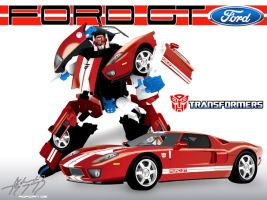 Autobot Ford GT by E-drian
