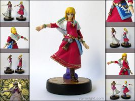 Amiibo Mod - Skyward Sword Zelda by souldreamx