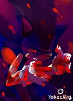 dark sonic. by Yokeching