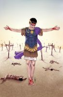 Caligula #3 Auxiliary Cover by MDiPascale