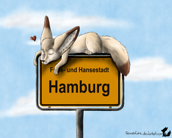 Dream from Hamburg by Fennekfuchs