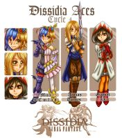DissidiaAces - Cycle 4 - PRELIMINARY ROUND by oOFlorianeOo