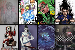 Art Progress 2008-2015 by BleedingHeartworks