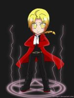 FMA-Edward Elric by anvilgurl