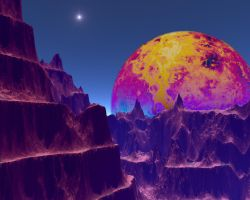 ugliest spacescape ever by CorazondeDios