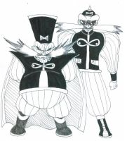 Dr. Robotnik as Dr. Gero by Gojira007