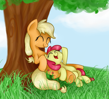 Apple sisters by MaggyMss