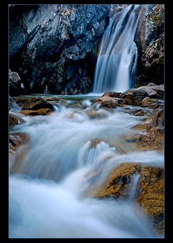 Lady FACE Waterfall by narmansk8