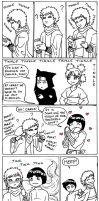 Tinkle Bells Lee+Gaara xmas by whisperelmwood