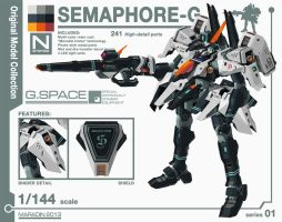 Series 01: Semaphore-G Version 2.0 by Nidaram