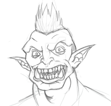 Never Tell An Orc To Smile by LovelyPete