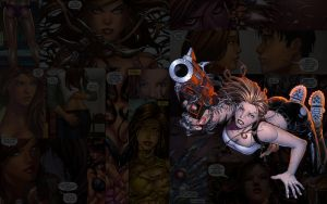 Witchblade.GunsOut by Troilus