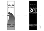 Game of Thrones - bookmark by tibots