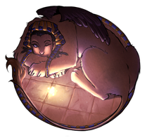 Circle: Sphinx by somik